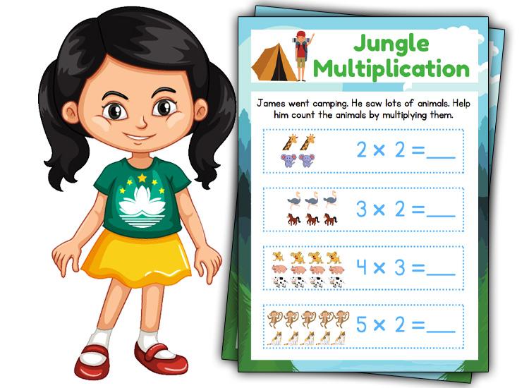 jungle Multiplication