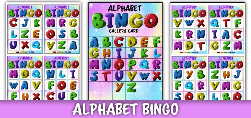 ABC Bingo Printable Game