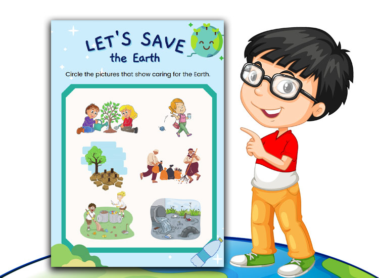 Space Activity sheets sve the world