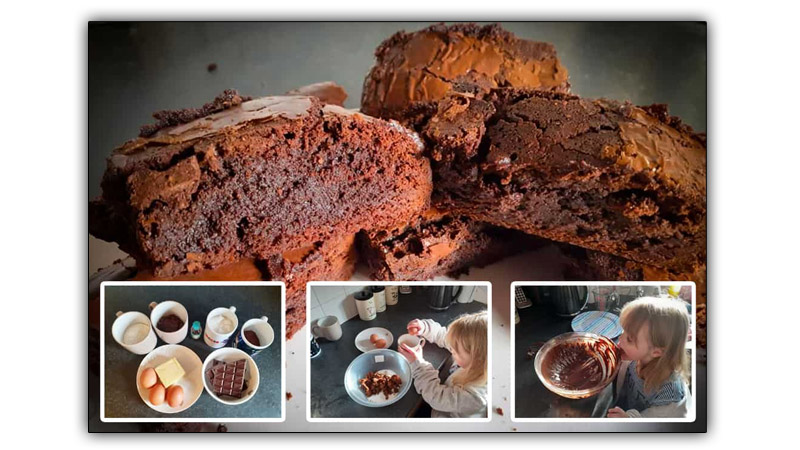 Easy Chocolate Brownie Recipe for Kids