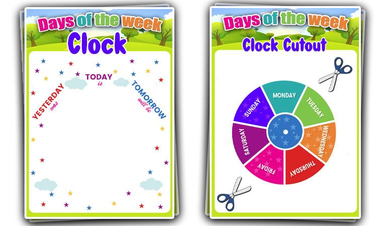 cut out clock