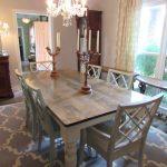 Handmade Custom Farmhouse Dining Tables Just Fine Tables