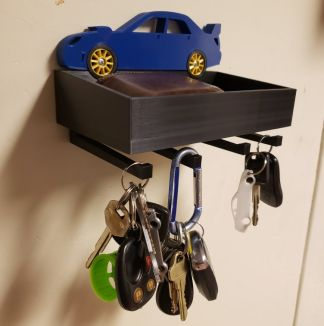 Wall Mounted Key Holders