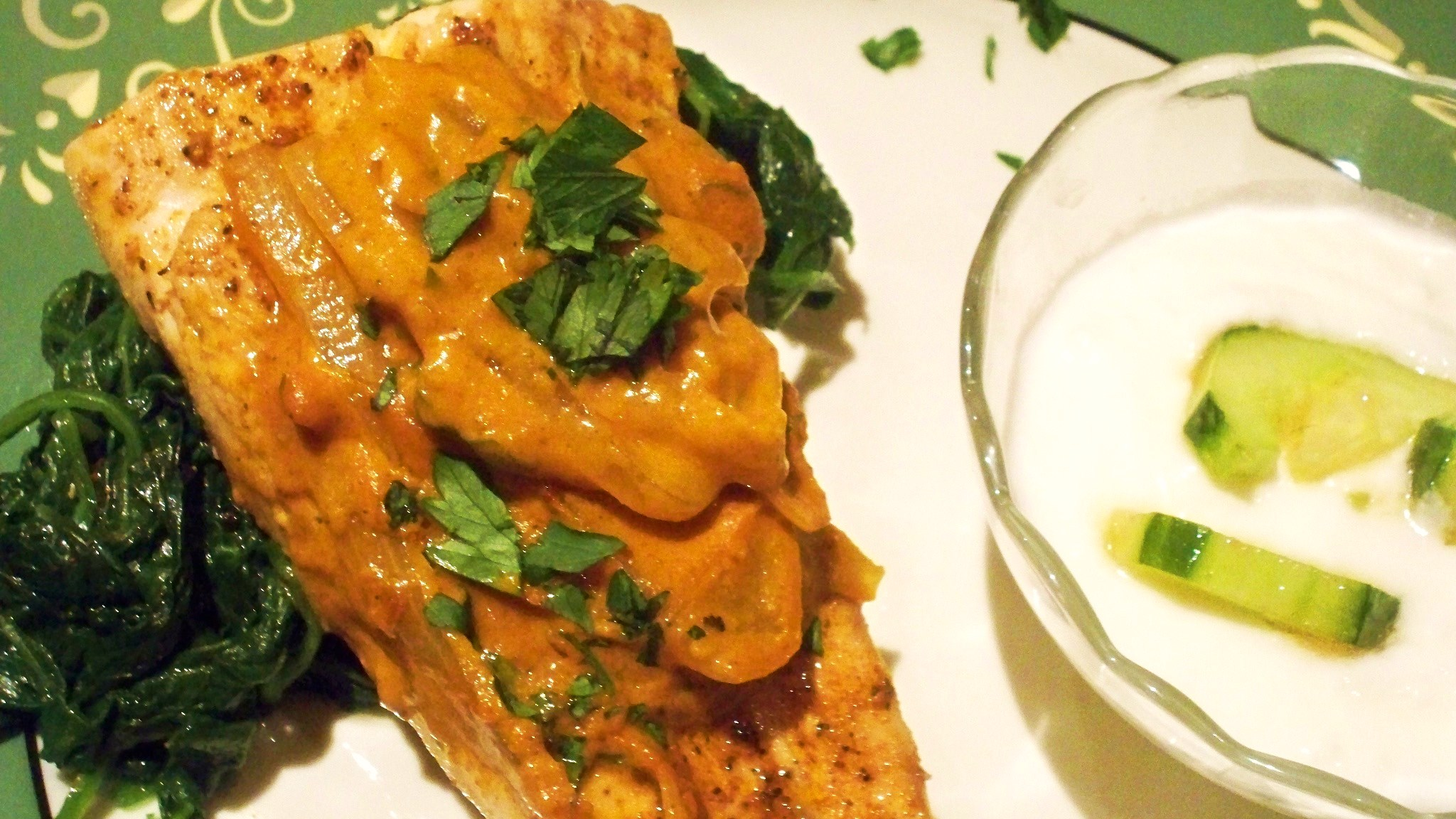 Coconut Red Curry Fish