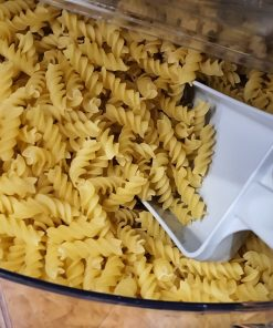 Organic Fusilli Pasta (wheat) in the Just Gaia zero waste grocery in Halifax, West Yorkshire