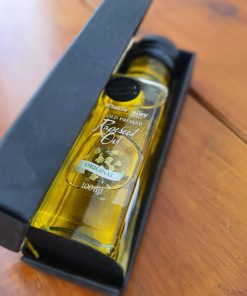 English truffel rapeseed oil in gift box at Just Gaia plastic free shop