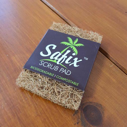 Small coconut scrub pad in Just Gaia: Plastic Free Shop Halifax, UK