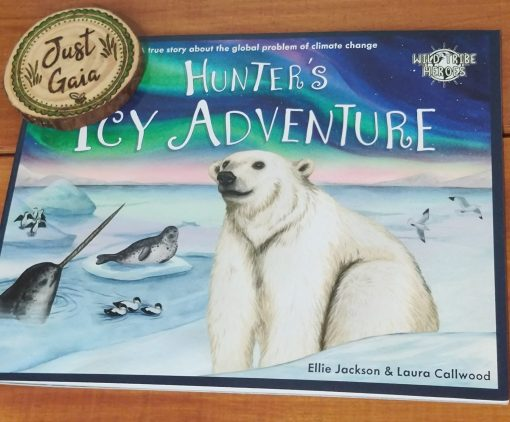 Wild Tribe Heroes Book - Hunter's Icy Adventure.