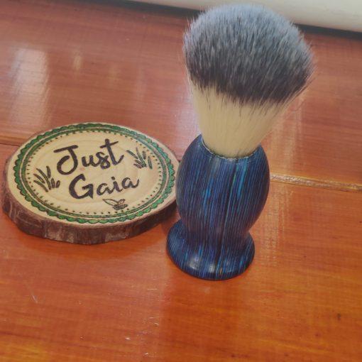 Cruelty Free Shaving Brush in Ocean Blue | Halifax UK