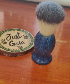 Cruelty Free Shaving Brush in Ocean Blue | Halifax UK