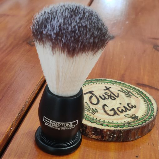 Cruelty Free Shaving Brush in Neptune Black | Halifax UK