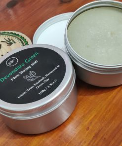 natural shaving soap tin