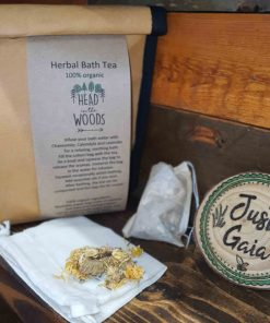 Herbal Bath Tea Gift Set on display at Just Gaia, UK