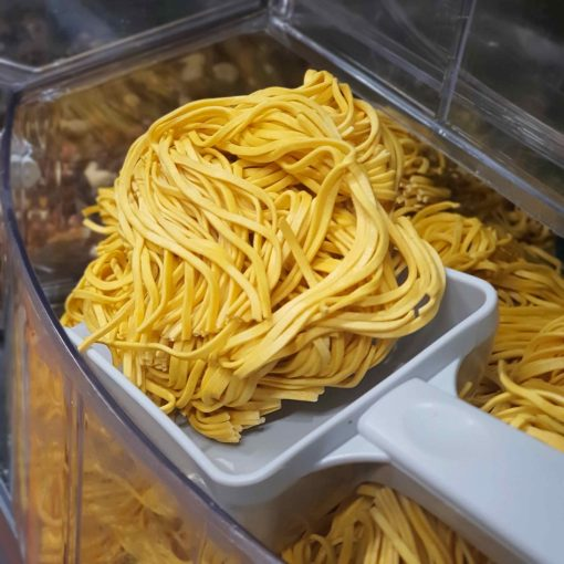 These vegan noodle baskets are also plastic free noodles