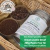 Dream Jeanie Decaf Speciality Coffee Tin beans and ground at Just Gaia Halifax