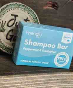 Friendly soap shampoo bar