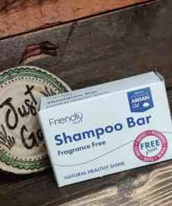 Fragrance Free Friendly soap shampoo bar
