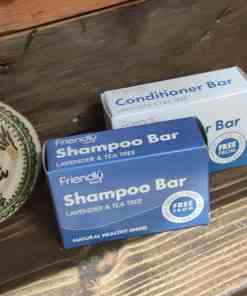 shampoo bar lavender and tea tree