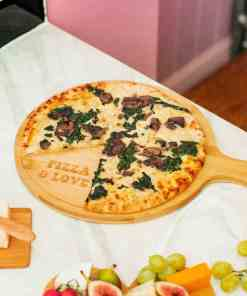 Bamboo Pizza Cutter