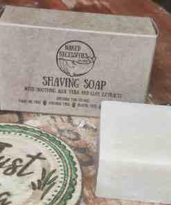 soothing shaving soap bar