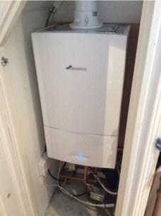 devon boiler install