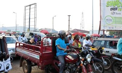 Traffic in Tamale