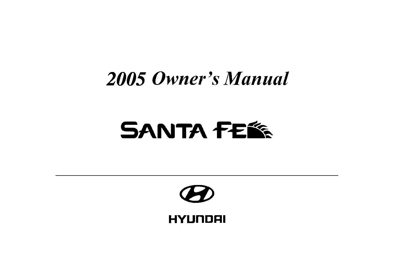 Hyundai Excel Owners Manua