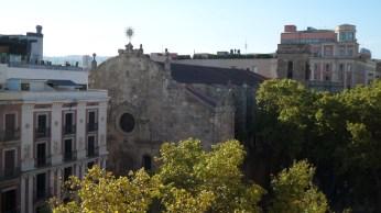 View over La Rambla