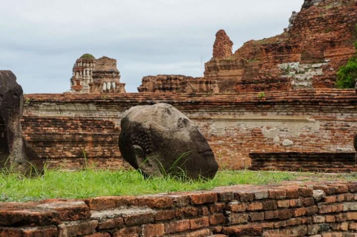Ayutthaya Thailand ruines