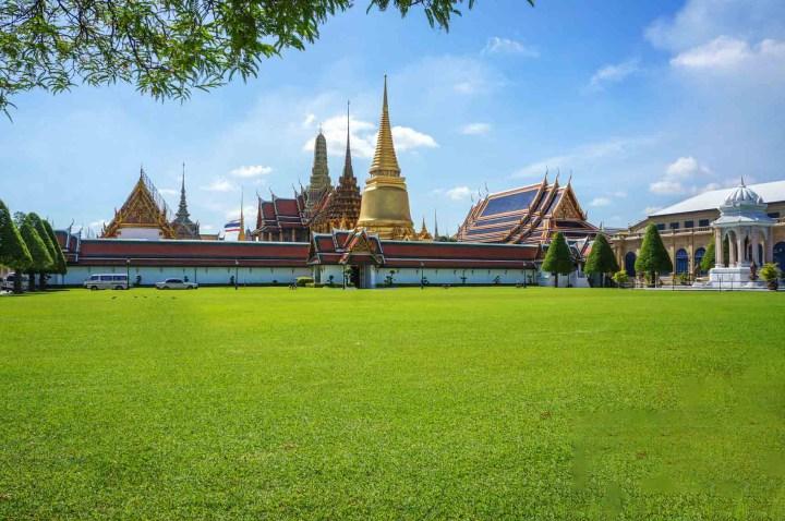Bangkok Thailand Royal Palace