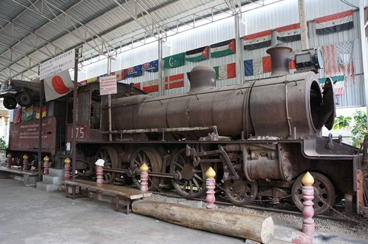 Oorlogsmuseum Kanchanaburi