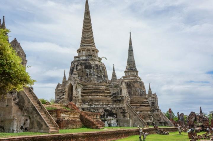 Oud royal paleis Ayutthaya