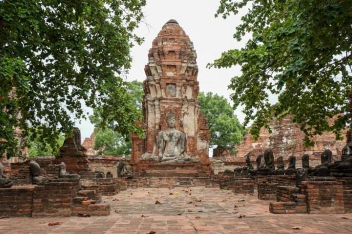 Thailand Ayutthaya ruines