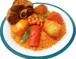Tunesische gerechten couscous