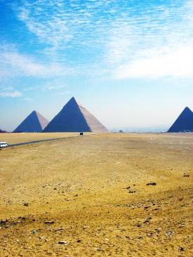 Egypte piramides Gizeh