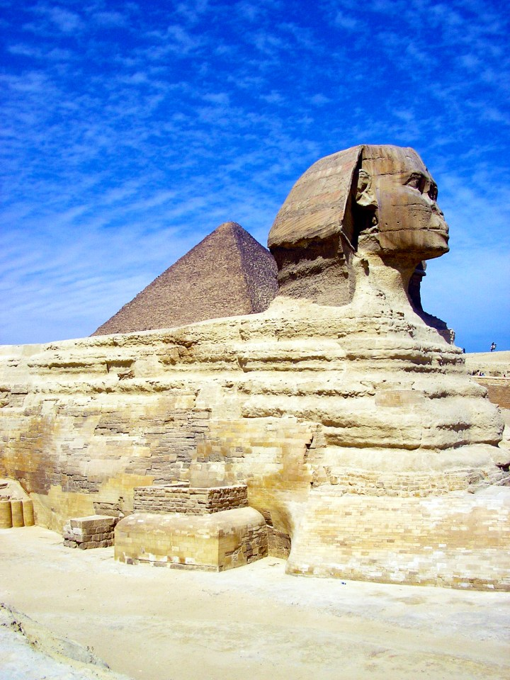 Egypte: de piramides van Gizeh
