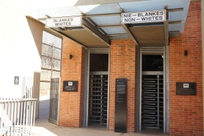 Johannesburg Zuid Afrika apartheidsmuseum
