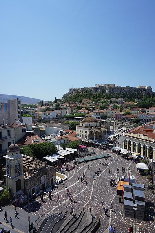 Athene Monastiraki plein