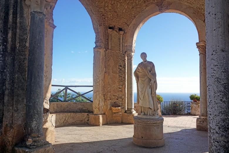 Amalfikust Ravello Villa Cimbrone 2