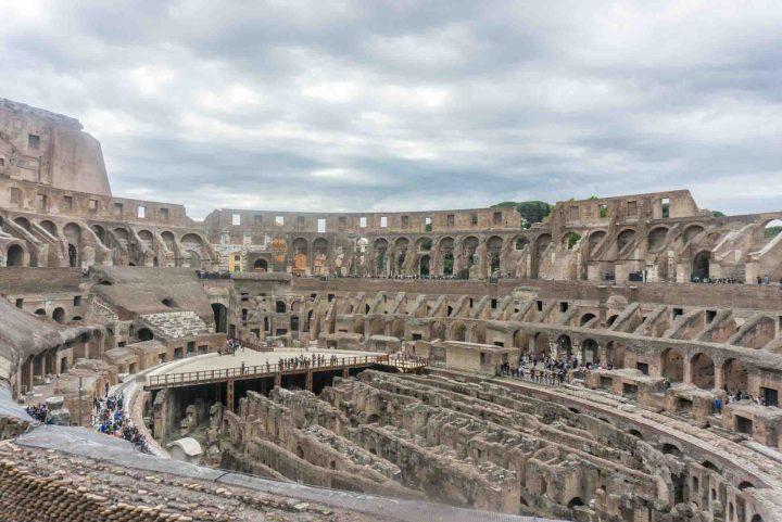 Rome - Italië Colosseum binnenkant
