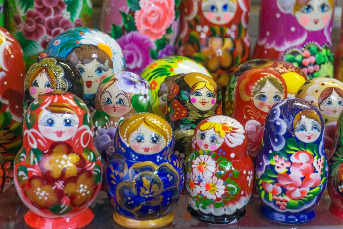 Rusland Moskou matroesjka