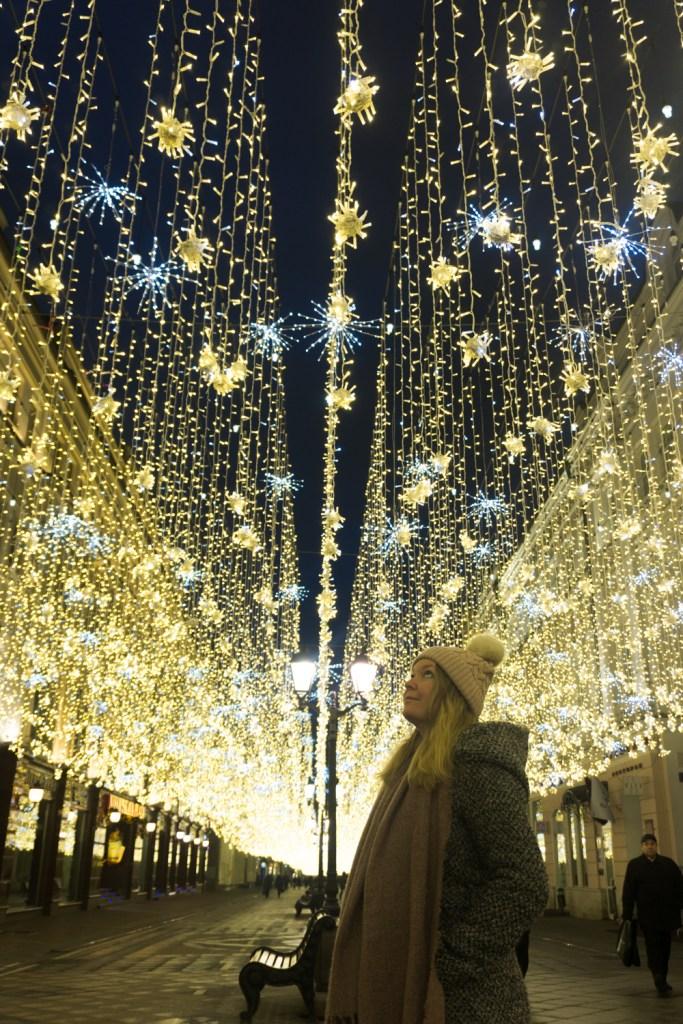 Winterfestival Moskou