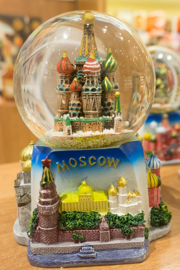 Rusland Moskou Arbat straat
