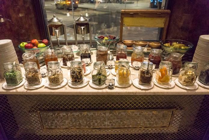 St Regis breakfast buffet