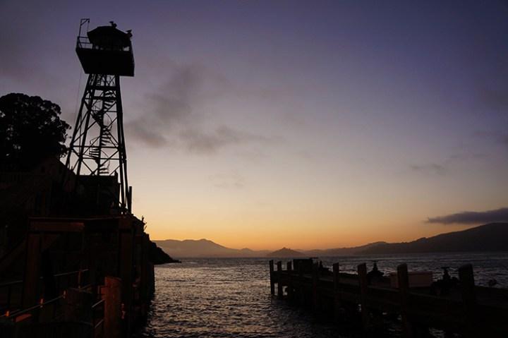 Alcatraz zonsondergang 2