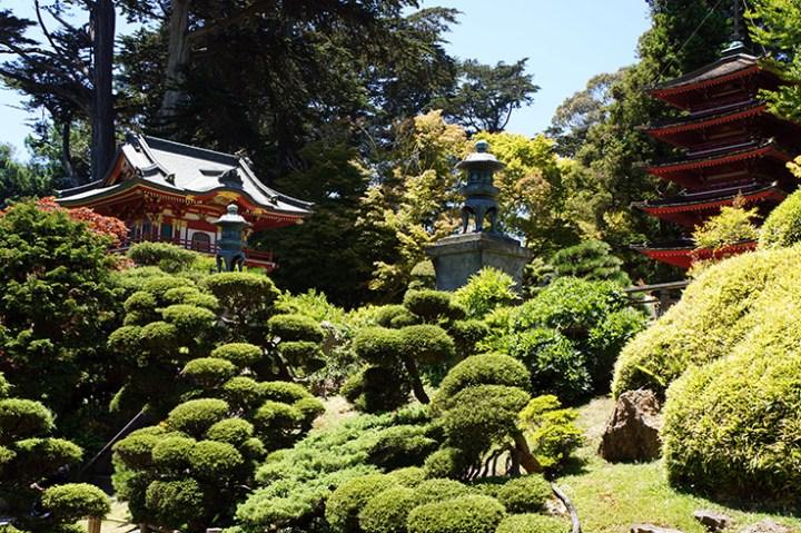 Golden Gate park Japanse tuin