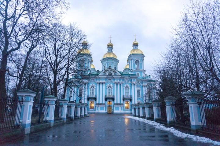 Sint Petersburg - Rusland - Nicolaas kerk