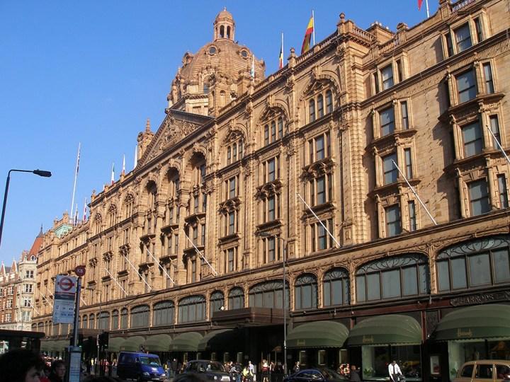 Harrods shoppen Londen