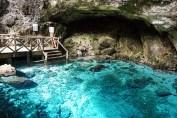 Hoyo Azul Dominicaanse Republiek scape park trap