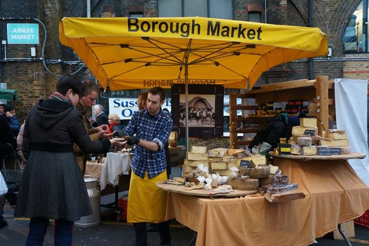 Londen Borough Markt